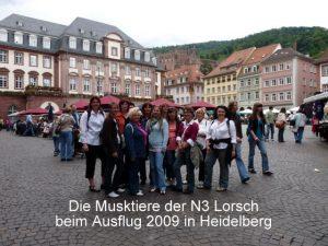 Musketierausflug 2009